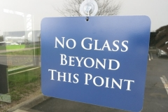 No Glass Beyond This Point