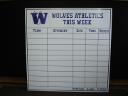 Dry Erase Tracking Boards
