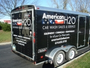 American H2O Lettered Trailer