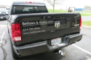 Bellows Truck Lettering