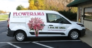 Pink Flowerama Van