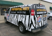 Tiger Van Back