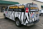 Tiger Van Back