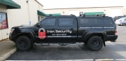 Iron Security Vehicle Lettering