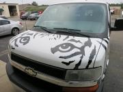Tiger Van Front