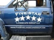 Five Star Landscaping Logo
