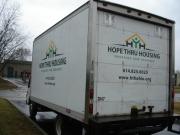 Hope Thru Housing Van