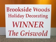 Brookside Woods Holiday Decorating