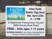 InterFaith Easter Egg Hunt